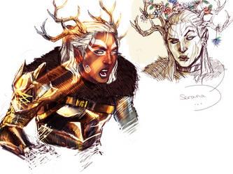 Freydis Hjadveil by AnnDeeF