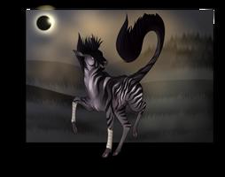 Eclipse | Stag | Herd Member by MidnightDireWolf