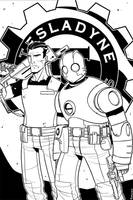 Atomic Robo and Jenkins by Finfrock