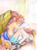 Lazy morning... by Olevelaya