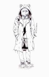 Sketch 05 Hoozuki by Olevelaya