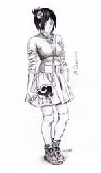 Sketch 08 Konan by Olevelaya