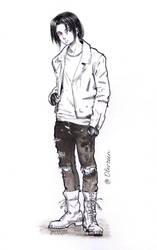 Sketch  Itachi by Olevelaya