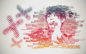 Hyun Seung Typography by KissOfDeathXxX