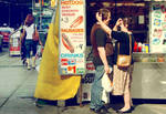 Love and Hotdog by MajorPhotography