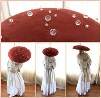Fantasia Dancing Mushroom Costume by aelthwyn