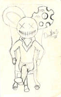 Deadmau5 Sketch 2 by IdanCarre