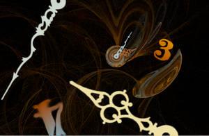 Apophysis + Gimp Clockwork by IdanCarre
