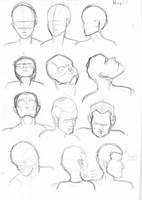 Head Poses by IdanCarre
