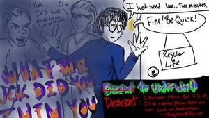 descent (decent) to underworld by IdanCarre