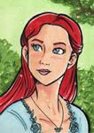 Sansa Stark ACEO Card by starlinehodge