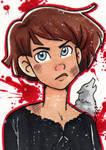 Arya Stark ACEO by starlinehodge