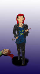 The Huntress by X-Red-Jazz-X