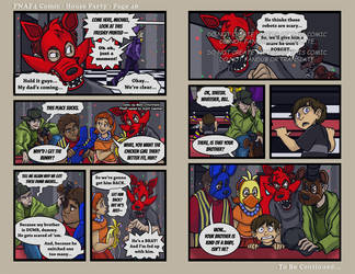 FNAF4 Comic - House Party - Page 46 - 1-13-17 by Mattartist25