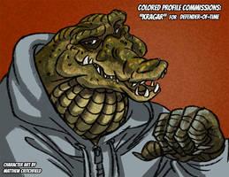 Commission - Kragar for Defender-of-Time - 1-11-18 by Mattartist25