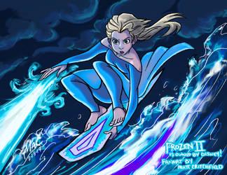 Frozen 2 - Elsa - 2-13-19 by Mattartist25