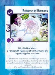 TSSSF Goal Card - Rainbow of Harmony 1.0.6 by MLP-NovelIdea