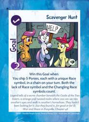 TSSSF Goal Card - Scavenger Hunt 1.0.6 by MLP-NovelIdea