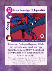 TSSSF Pony Card - Luna, Scourge of Equestria 1.0.6 by MLP-NovelIdea