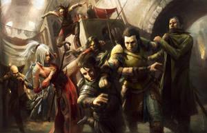 Market Ambush by wraithdt