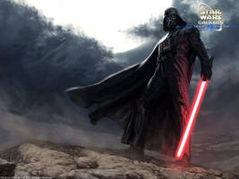 Darth Vader by wraithdt