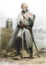 Estevao, Knight of Santiago by wraithdt