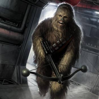 Chewie by wraithdt