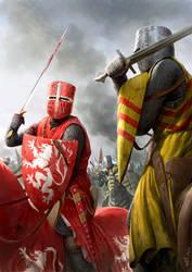 Battle of Evesham by wraithdt