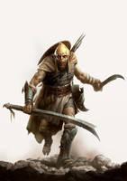 Orc Warfare Cover Art by wraithdt