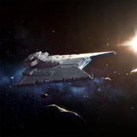 Star Wars Armada: Gladiator Star Destroyer by wraithdt