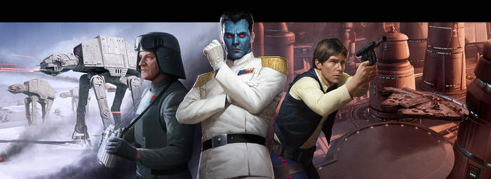 Imperial Entanglements Box Art by wraithdt
