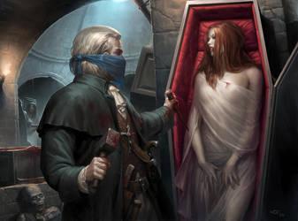European Vampire Hunter by wraithdt