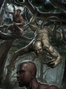 African Vampire Hunter by wraithdt
