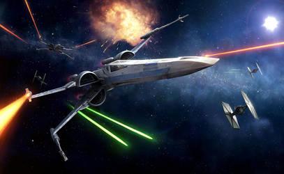 XWMG - The Force Awakens Edition Box Art by wraithdt