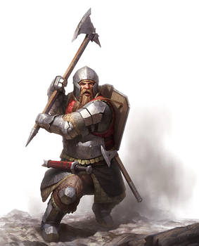 Dwarf Warfare Cover Art by wraithdt