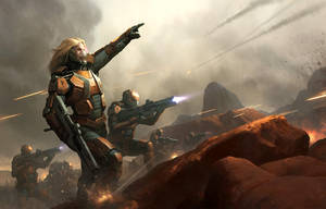 Colony Warrior by wraithdt