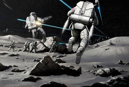 Nazi Moonbase - Attack of 1972 by wraithdt