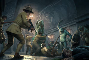 Cthulhu Wars - The Raid on Innsmouth by wraithdt