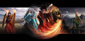 Legend Of The Five Rings LCG Box Art by wraithdt