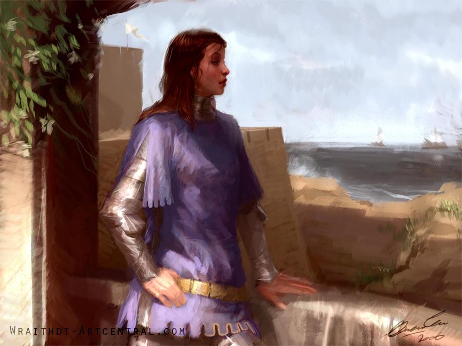 By the Coast by wraithdt