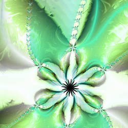 Green Flower by dragonworld5