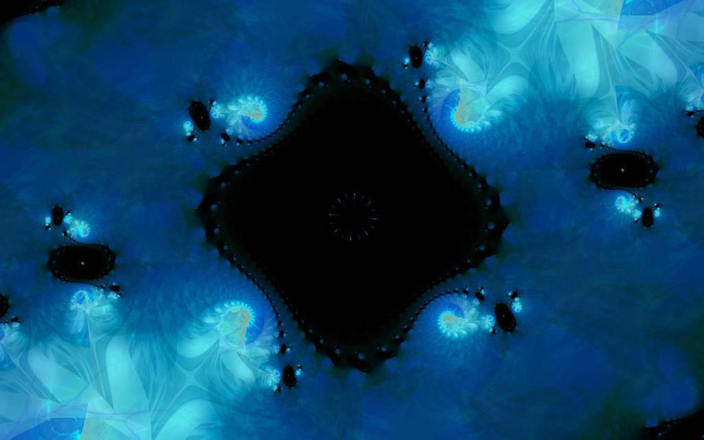 Glowing  Black Hole by dragonworld5