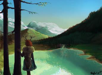 The Mountain Girl by Momo-Deary