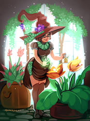 Witchsona: Plants by Momo-Deary