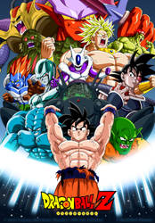 Goku and the Enemies of Films by SrMoro