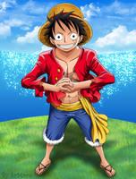 Luffy - One Piece by SrMoro
