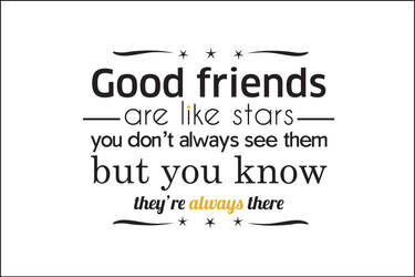 Good friends by Sandstroom