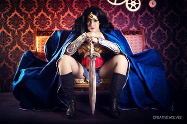 Wonder Woman - No more Princess by Draugwenka