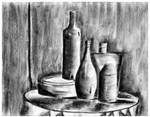 Charcoal Bottles by MackTheDeuce