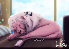 Cat Steven by Lobismina